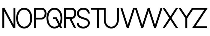 Vanlose_SimpleType Font UPPERCASE