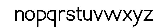 Vanlose_SimpleType Font LOWERCASE