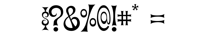 Vantasyhouse Font OTHER CHARS