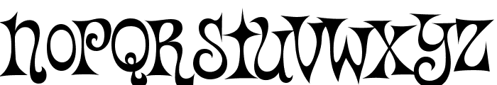 Vantasyhouse Font UPPERCASE