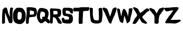 Vapor Black Font UPPERCASE