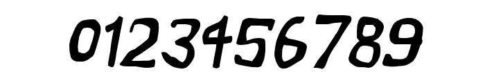 Vapor Oblique Font OTHER CHARS