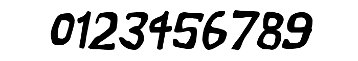 Vapor Semibold Oblique Font OTHER CHARS