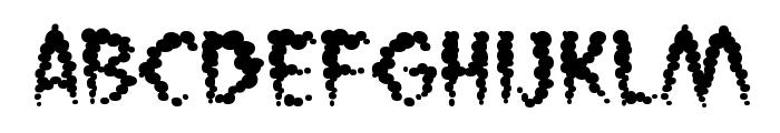 Vaporized BB Font LOWERCASE