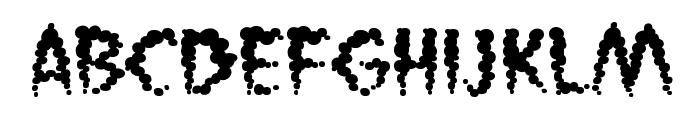 VaporizedBB Font LOWERCASE