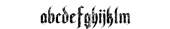 Varaninde Font LOWERCASE
