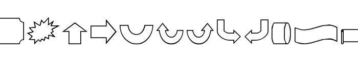 VariShapes Font LOWERCASE