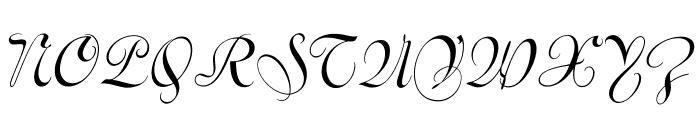 VarianteInitials Font UPPERCASE