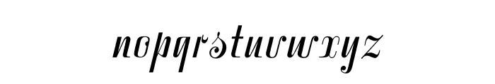 VarianteInitials Font LOWERCASE
