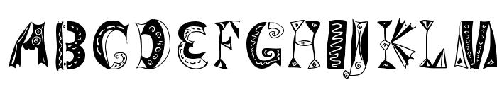 VariationsForImre Font UPPERCASE