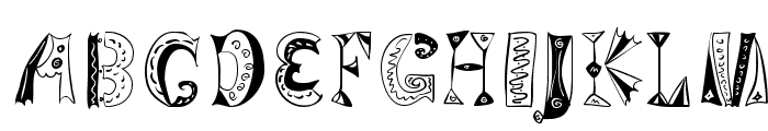VariationsForImre Font LOWERCASE