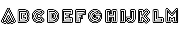 Variet? Cascadeur Font LOWERCASE