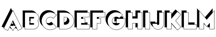 Variet? Cirque Font UPPERCASE
