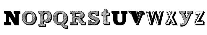 Varius Multiplex Personal Edition Font UPPERCASE