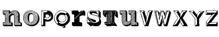 Varius Multiplex Personal Edition Font LOWERCASE