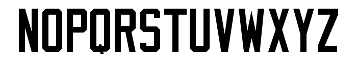 Varsity Classic D Font UPPERCASE