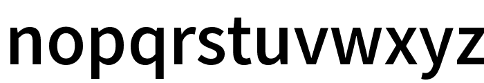 Varta Bold Font LOWERCASE