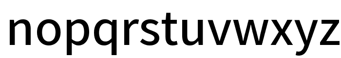 Varta SemiBold Font LOWERCASE