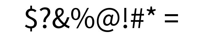 Varta Font OTHER CHARS