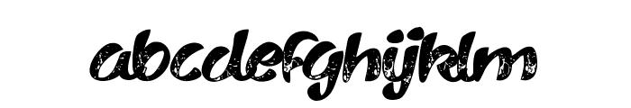 Vary Sharky Regular Font LOWERCASE