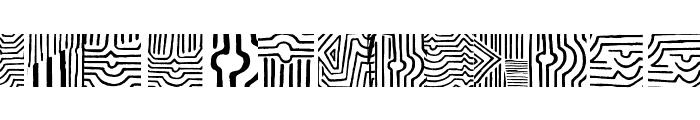 VasarelyWasHere Font UPPERCASE