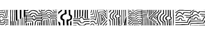 VasarelyWasHere Font LOWERCASE