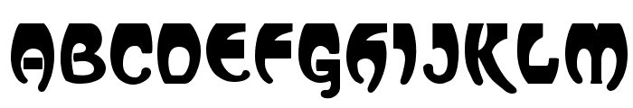 Vassar Regular Font UPPERCASE