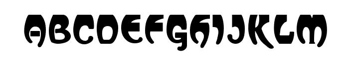 Vassar Font UPPERCASE