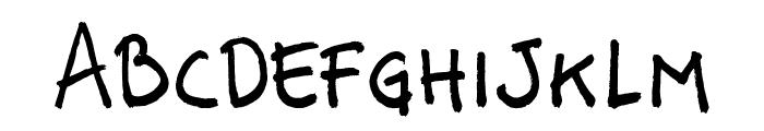 Vastorga Bold Letter Font UPPERCASE