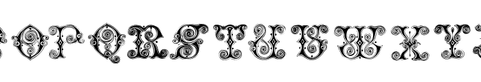 VaticanianInitials Font LOWERCASE