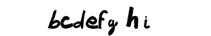 Vaudoo RF Font LOWERCASE