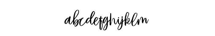 VayenthaScriptDemo Font LOWERCASE
