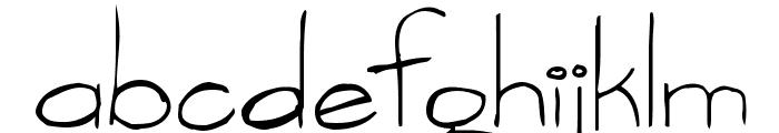 vargas Font LOWERCASE