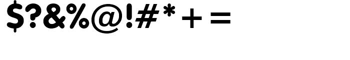 VAG Rounded BT Black Font OTHER CHARS