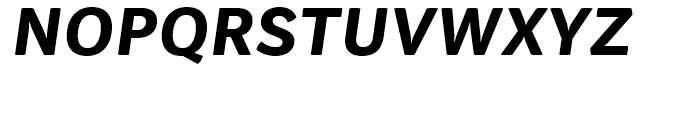 Vaccine Sans Extra Bold Italic Font UPPERCASE