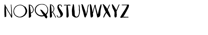 Vagabundo Medium Font LOWERCASE