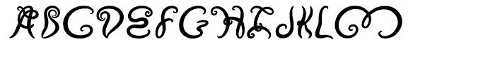 Vapor Regular Font UPPERCASE