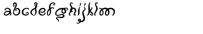 Vapor Regular Font LOWERCASE