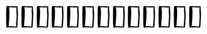 Vagabundo Elements Font LOWERCASE