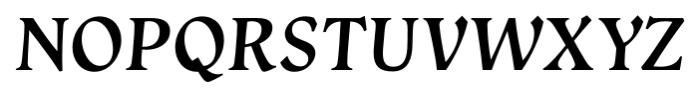 Vatican Medium Italic Font UPPERCASE