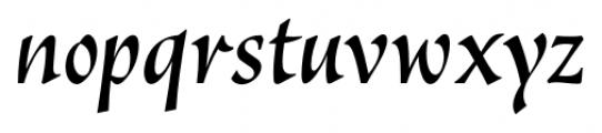 Vatican Medium Italic Font LOWERCASE