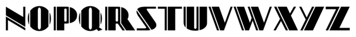Vaudeville JNL Regular Font UPPERCASE