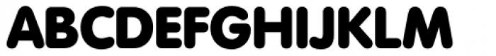 VAG Rounded Next Extra Black Font UPPERCASE