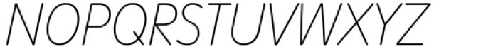 VAG Rounded Next Variable Italic Font UPPERCASE