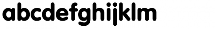 VAG Rundschrift EF Font LOWERCASE