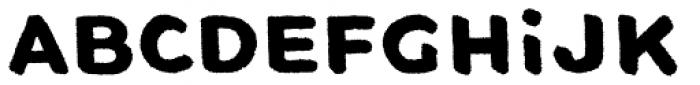 VALPARA Font LOWERCASE