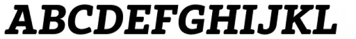 Vaccine ExtraBold Italic Font UPPERCASE