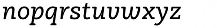 Vaccine Italic Font LOWERCASE