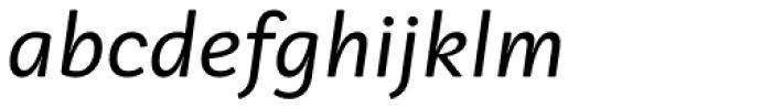 Vaccine Sans Italic Font LOWERCASE