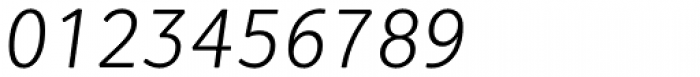 Vaccine Sans Light Italic Font OTHER CHARS